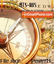 Compass theme screenshot