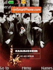 Rammstein Lab tema screenshot