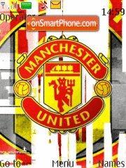 Manchster United theme screenshot