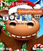 New Year 2009 es el tema de pantalla