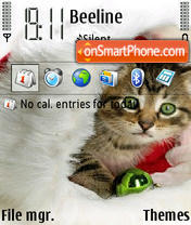 Cat 13 theme screenshot