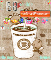 Coffee Smile theme screenshot