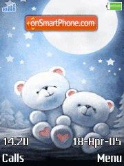 Moon and bear es el tema de pantalla
