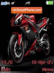 Yamaha R1 theme screenshot