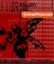 Скриншот темы Linkin Park 3