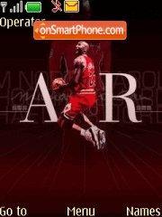 Air Jordan 03 theme screenshot