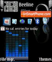 Animated Music 02 theme screenshot