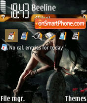 Dark Angel 06 theme screenshot