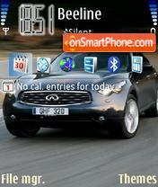Скриншот темы Infiniti Fx 01
