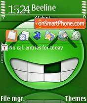 Coolsmile theme screenshot