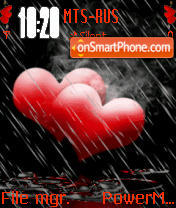 2 Hearts theme screenshot