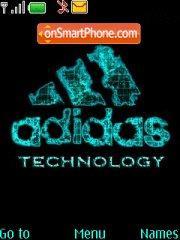 Adidas Technology theme screenshot
