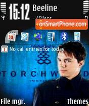 Torchwood v2 theme screenshot