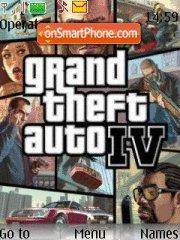 Скриншот темы GTA 4