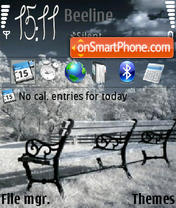 Winter 240-320 theme screenshot
