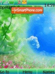 Скриншот темы Green Beauty
