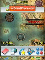 Maps theme screenshot
