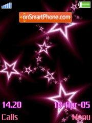 Abstract Star theme screenshot