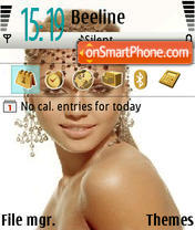 Jessica Simpson theme screenshot