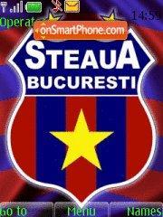 FC Steaua theme screenshot