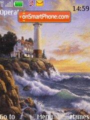 Lighthouse tema screenshot