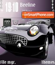 Black car 04 theme screenshot