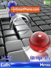Crystalball theme screenshot