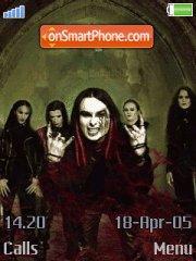 Cradle Of Filth 01 es el tema de pantalla