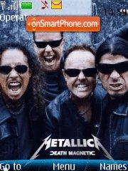 Metallica 10 Theme-Screenshot