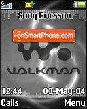 Silver Walkman es el tema de pantalla