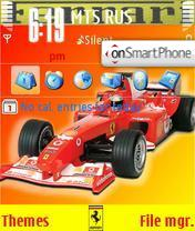 Ferrari F1 theme screenshot