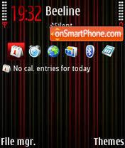 Neon 6286 tema screenshot
