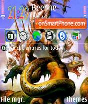 Fantasy 09 tema screenshot