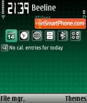 Скриншот темы Niceone