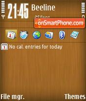 Wood 01 theme screenshot