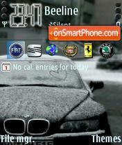 BMW 04 theme screenshot