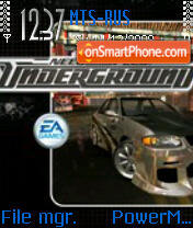 NFS Underground theme screenshot
