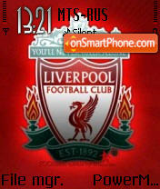 Liverpool tema screenshot
