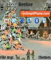 Christmas es el tema de pantalla