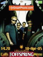 The Offspring theme screenshot