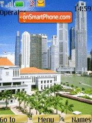 Singapore City tema screenshot