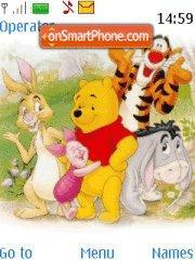Winnie the Pooh theme screenshot