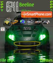 Aston Martin theme screenshot