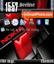 Nokia Red V1 Theme-Screenshot