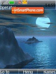 Night Sea tema screenshot