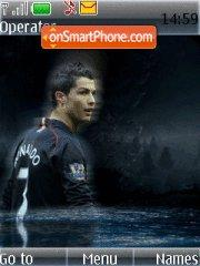 Ronaldoo tema screenshot