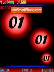 SWF red clock theme screenshot