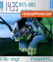 Tiger Jaime theme screenshot