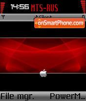 Apple 4 theme screenshot