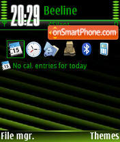 Green Design V1 tema screenshot
